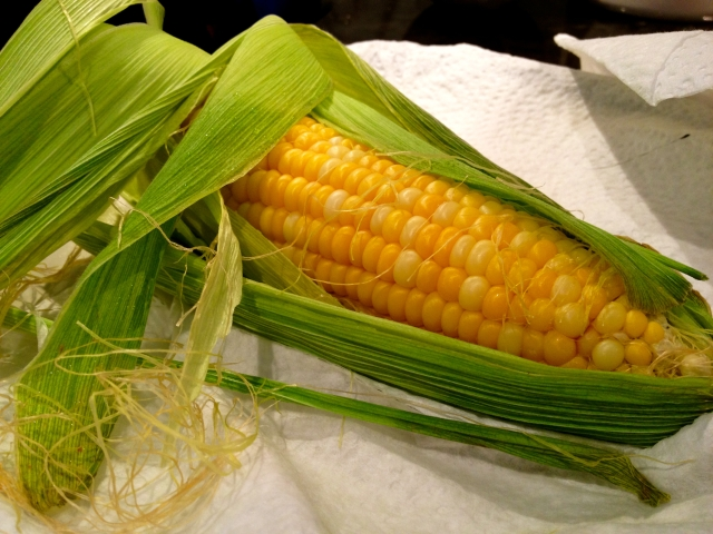 Paper Wrapped Corn