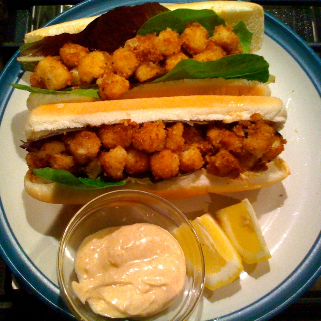 Scallop Po-Boy